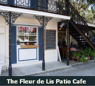 The Fleur de Lis Patio Cafe